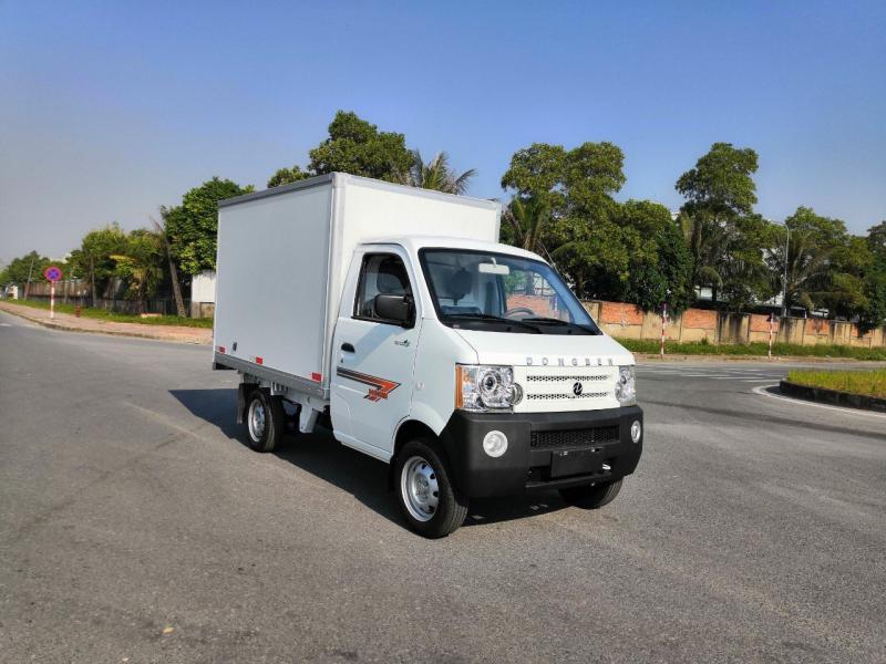 Xe tải Dongben DB1021 thùng kín composite