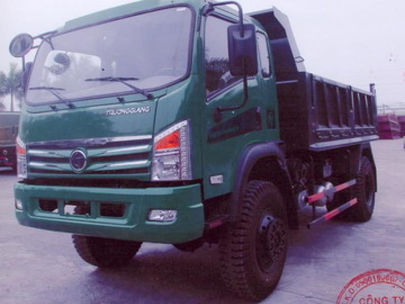 Xe ben Trường Giang 8t2 (8200kg) DFM TD8.5YC 4X4 2 CẦU.