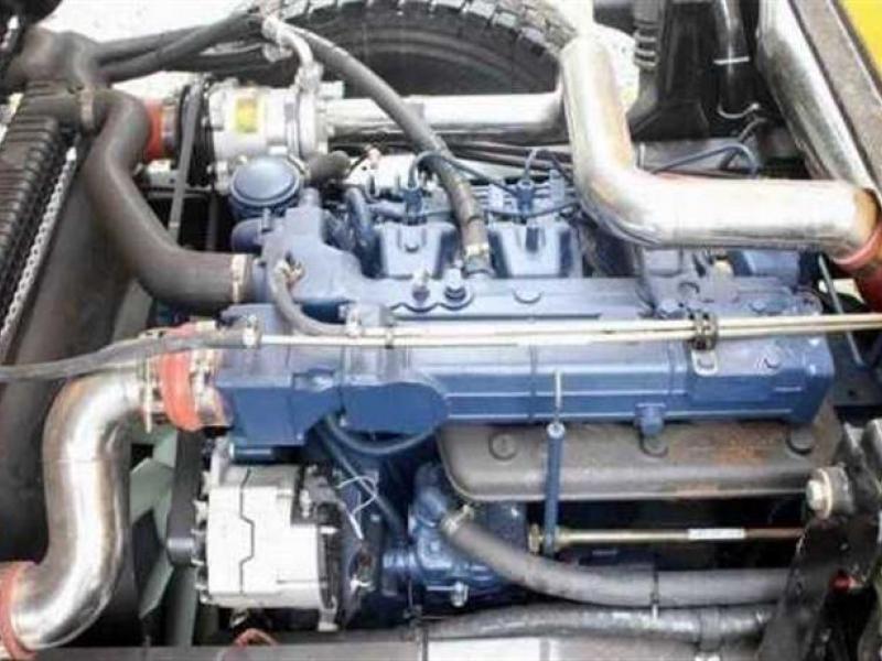 Xe tải 8,5 tấn DFMYC7TF4x2/TD3 ben Đồng Tâm 1 cầu