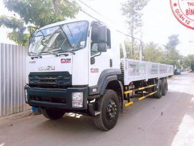 Xe tải ISUZU 15.3 tấn thùng lửng - FVM34W