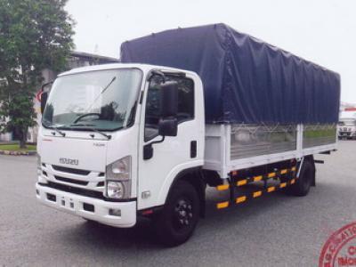 Xe tải ISUZU 5.2 tấn thùng mui bạt - NQR75M