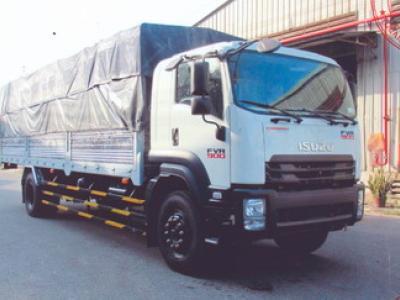 Xe tải ISUZU 8.2 tấn thùng mui bạt - FVR34S